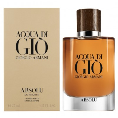 Giorgio Armani Acqua Di Gio Absolu For men 75ml (EDP)