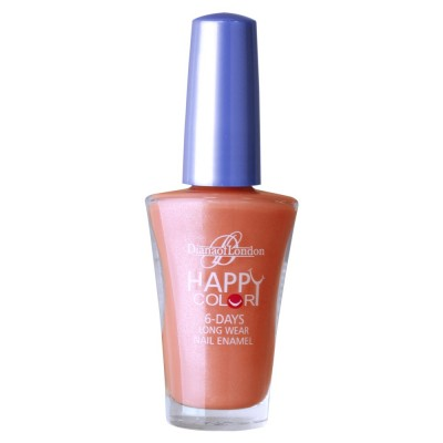 Diana Of London Happy Color Nail Polish Apricot Freeze
