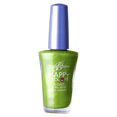 Diana Of London Happy Color Nail Polish Chilled Lime
