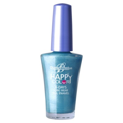 Diana Of London Happy Color Nail Polish Blue Berry Burst