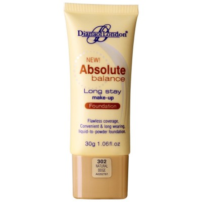 Diana Of London Absolute Balance Foundation Natural Beige (302)