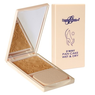 Diana Of London 2 Way Pan Cake Wet & Dry Soft Peach (113)