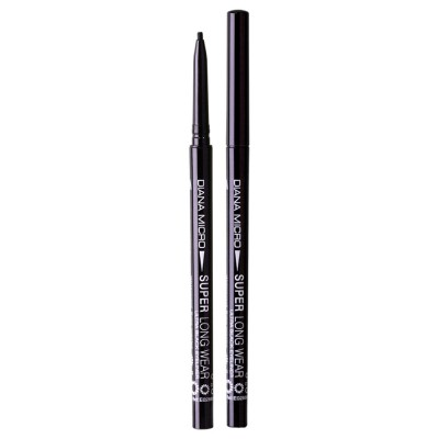 Diana Of London Micro Super Long Wear Pencil Black