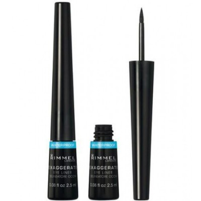 Rimmel London Exaggerate Waterproof Eyeliner Black