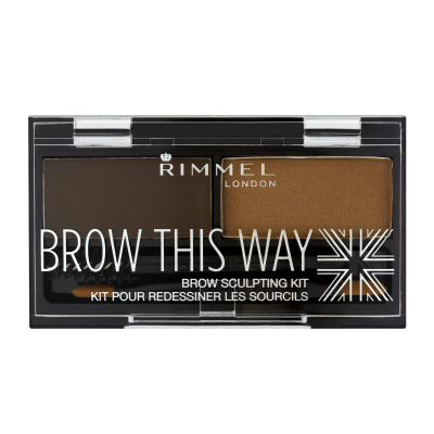 Rimmel London Brow this way palette Medium Brown (002)