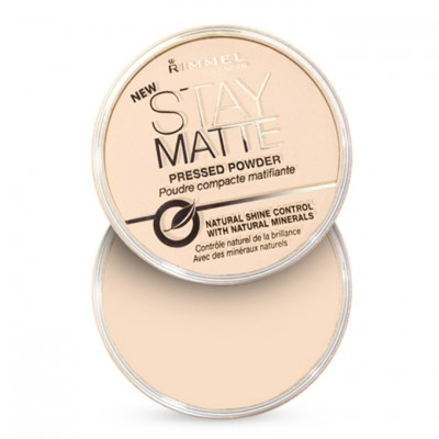 Rimmel London Stay Matte Pressed Powder Transparent (001)
