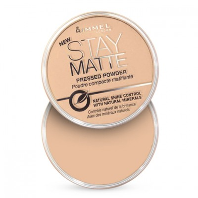 Rimmel London Stay Matte Pressed Powder Silky Beige (005)