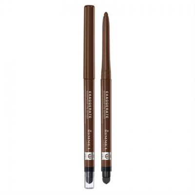 Rimmel London Exaggerate Waterproof Eye Definer Rich Brown