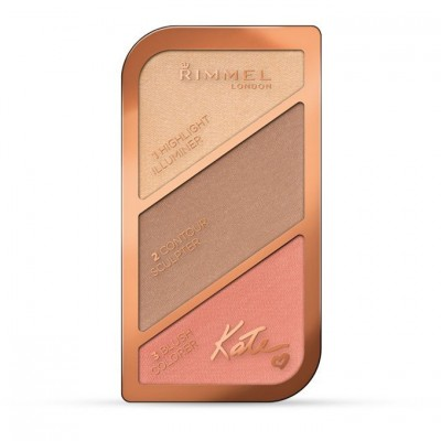 Rimmel London Sculpting And Highlighting Kit Coral Glow (002)