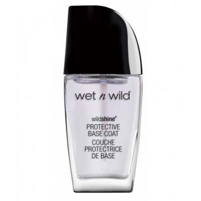 Wet n Wild Wild Shine Nail Color Base Coat Protective Base Coat