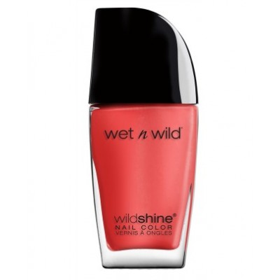 Wet n Wild Wild Shine Nail Color Grasping at Strawberries