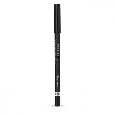 Rimmel London Soft Kohl Kajal Eyeliner Pencil Jet Black