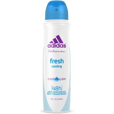 Adidas Fresh Cooling Cool & Care 48h Anti-Perspirant Anti-Transpirant Spray for Women 150 ml
