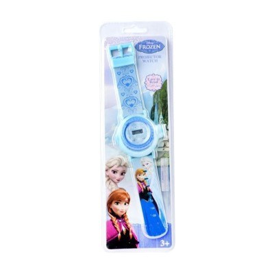 Disney Frozen Light blue Projector Watch for Girls