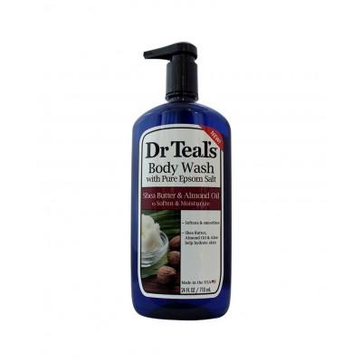 Dr Teal's Epsom Salt Body Wash Shea Butter & Almond Oil 710ml