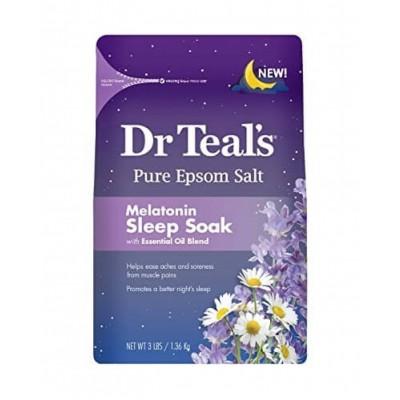 Dr Teal's Pure Epsom Salt Melatonin Sleep Soak 1.36kg