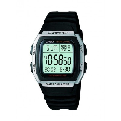 Casio Mens Resin Digital Quartz Watch W-96H-1AVDF