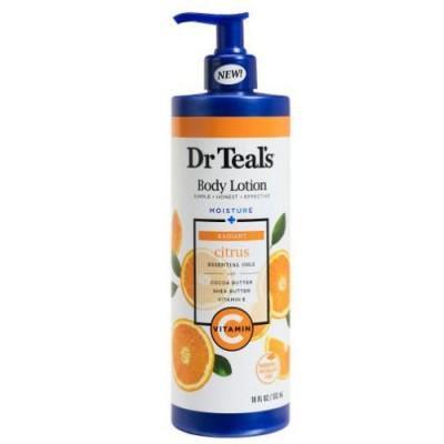 Dr Teal's Radiant Vitamin C Body Lotion Moisturizing Body Lotion 532ml