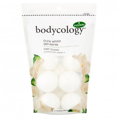 Bodycology Pure White Gardenia Bath Fizzies 60g (8Fizzies)