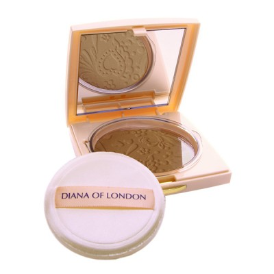 Diana Of London Absolute Stay Compact Face Powder Golden Fawn (409)