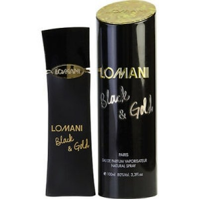 Lomani Black & Gold For Women 100ml (EDP)