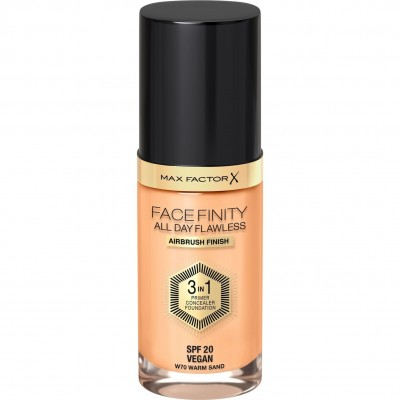 Max Factor FaceFinity All Day Flawless 3 in 1 Foundation W70 Warm Sand