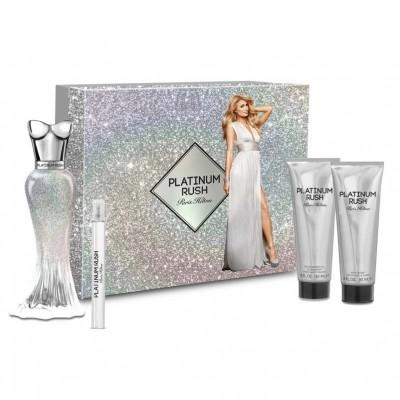 Paris Hilton Platinum Rush 4 Piece Gift Set