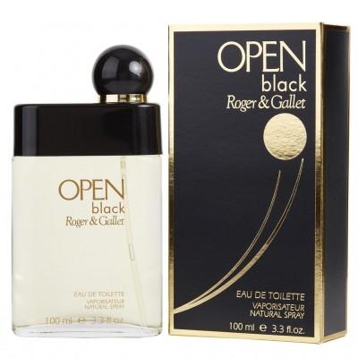 Open Black Roger & Gallet For Men 100ml (EDT)