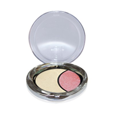 DMGM Studio Perfection Duo Eye Shadow Satin White Pink Orchid