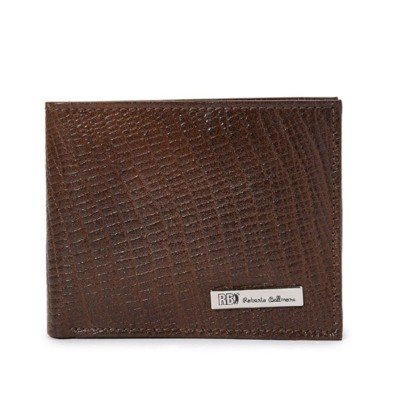 Roberto Ballmore Textured Bifold Short Leather Wallet SC36695