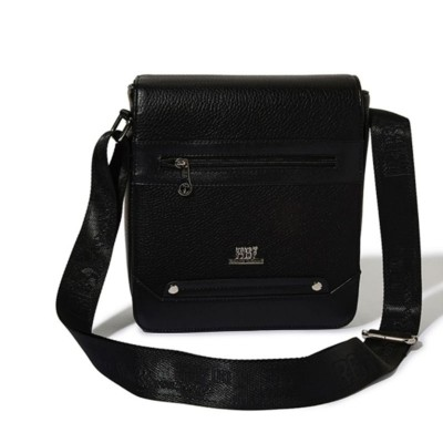Roberto Ballmore Flap Closure Solid Messenger Bag SC44229a