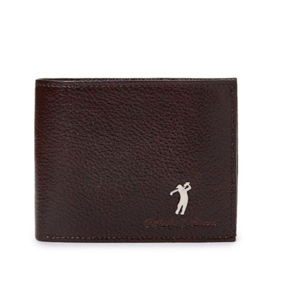 Roberto Ballmore Short Textured-Fade Bifold Leather Wallet SC45986