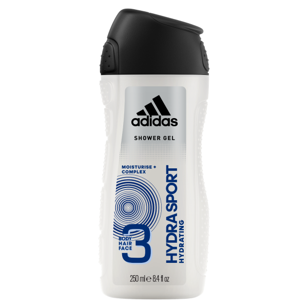 d79550404 Buy Adidas Hydra Sport 3 In 1 Body, Hair & Face Shower Gel For Men ...