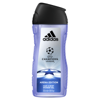 Adidas UEFA Champion League Arena Edition 2 In 1 Hair & Body Shower Gel For Men 250ml