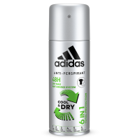 Adidas 6 IN 1 Anti-Perspirant Deo For Men150ml