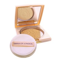 Diana Of London Absolute Stay Compact Face Powder Natural Almond (406)