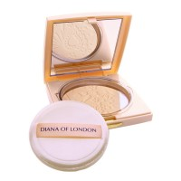 Diana Of London Absolute Stay Face Powder Porcelain Magic (401)