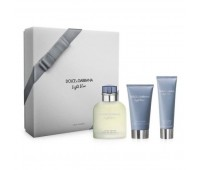 Dolce & Gabbana Light Blue 3pcs Gift Set For Men
