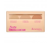 Rimmel London insta conceal and contour palette 010 Light