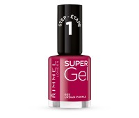 Rimmel London Super Gel Nail Polish Urban Purple 025