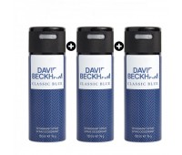 David Beckham Classic Blue Deodorant Bundle