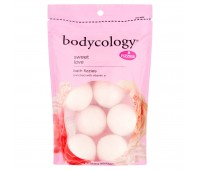 Bodycology Sweet Love Bath Fizzies 60g (8Fizzies)