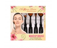 Chrixtina Rocca Oval cosmetic brushes