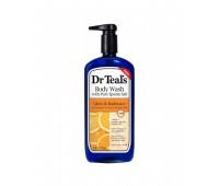 Dr Teal's Glow & Radiance Body Wash with Pure Epsom Salt and Vitamin C 710ml