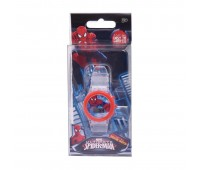 Marvel Ultimate Spiderman Digital Watch with LED Light  for Boys