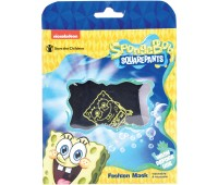 Spongebob Washable Face Kids Mask Non Medical Reusable Cotton With Valve Filter For Children