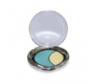 DMGM Studio Perfection Duo Eye Shadow Aqua Haze Gold Frost