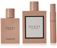 Gucci Bloom Gucci 3 Piece Gift Set For Women