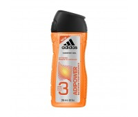 Adidas Adipower 3-In-1 Shower Gel For Men 250ml
