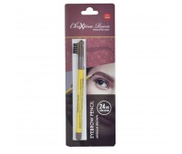 Chrixtina Rocca 24 Hr long lasting Eyebrow Pencil - Medium Brown